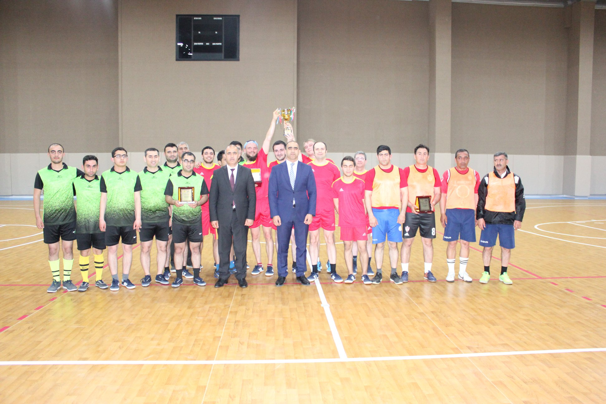 Chess players competed for the futsal championship